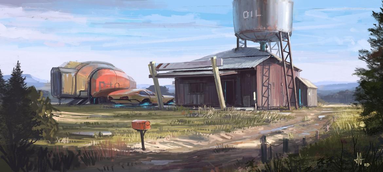 Garage perdu.