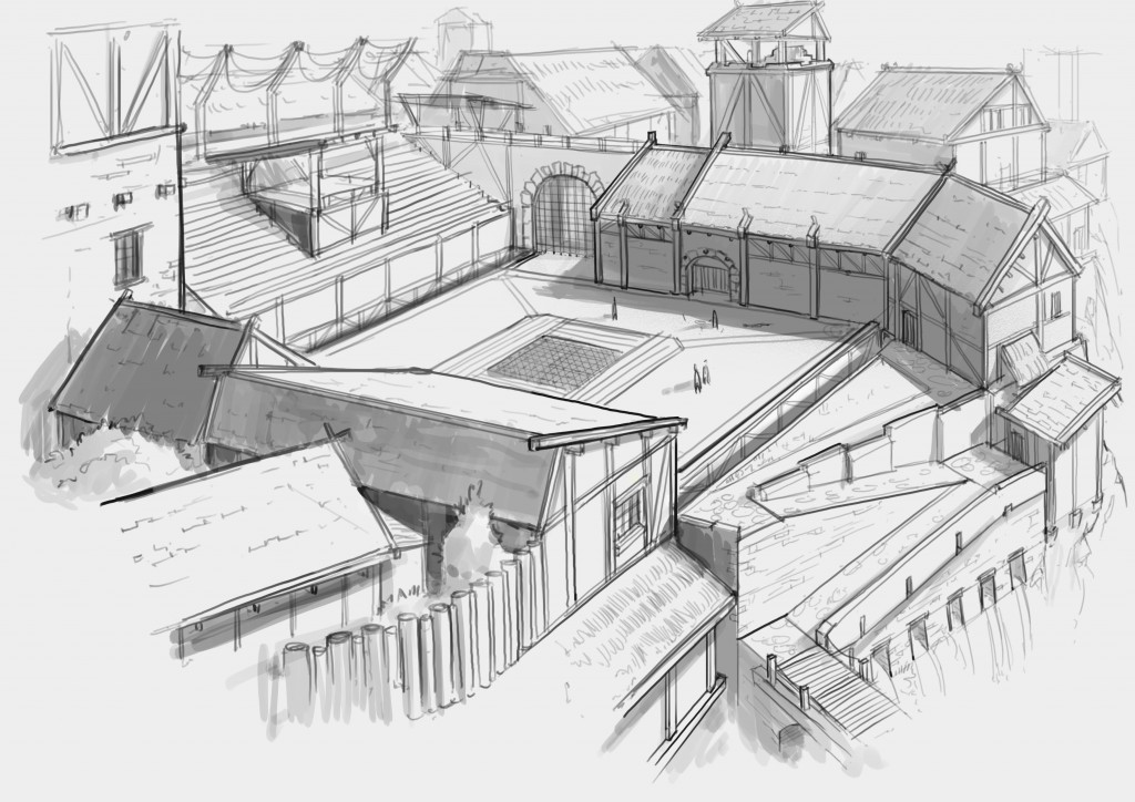arène médiévale 4