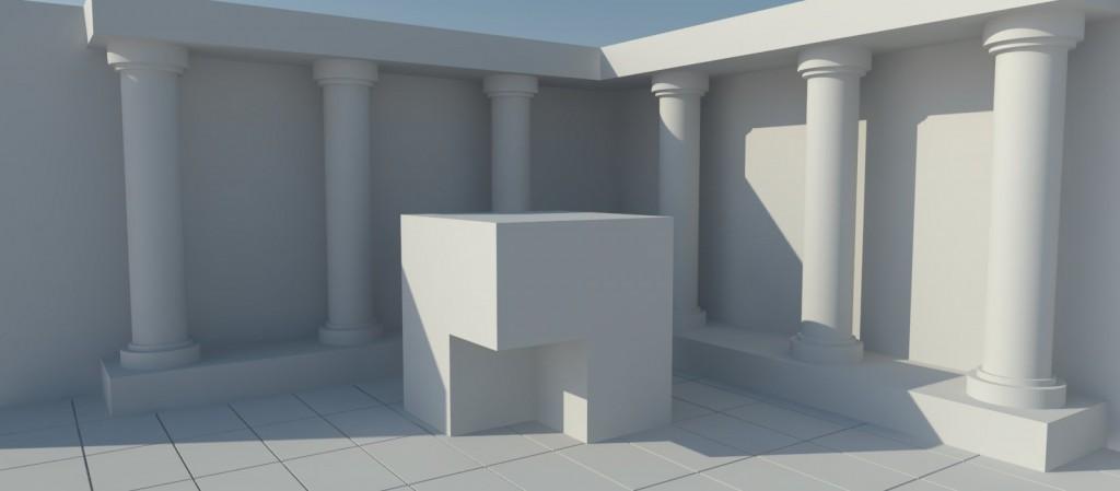 l'occlusion ambiante en 3D