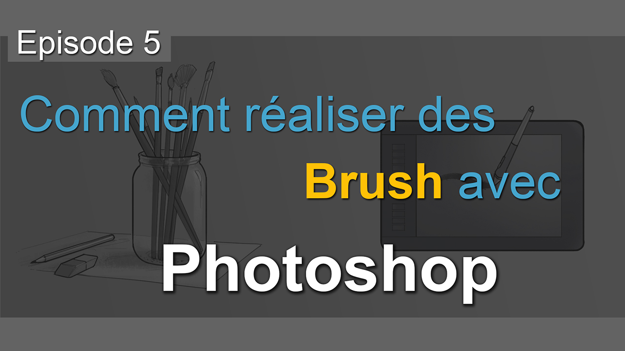 comment cr u00e9er ses brush avec photoshop