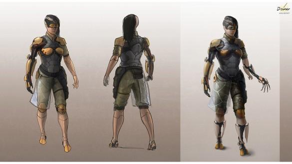Gogo-Personnage terminé