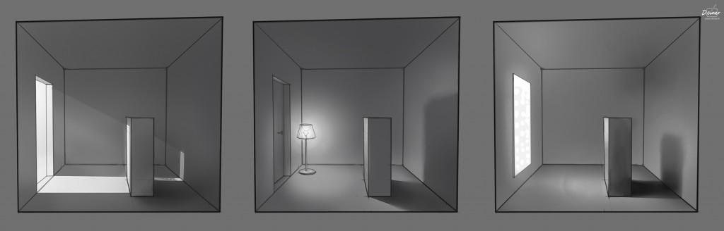 Apprendre à dessiner la lumières