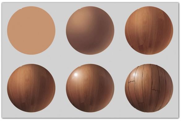 Dessiner-une-texture-bois
