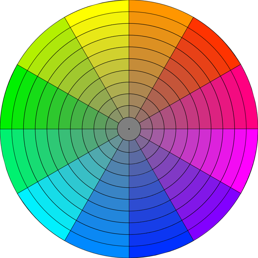 Les 4 r gles conna tre pour dessiner en couleur - Roue chromatique des couleurs ...