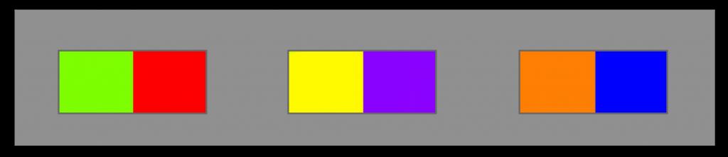 Contraste-de-couleurs-complémentaire